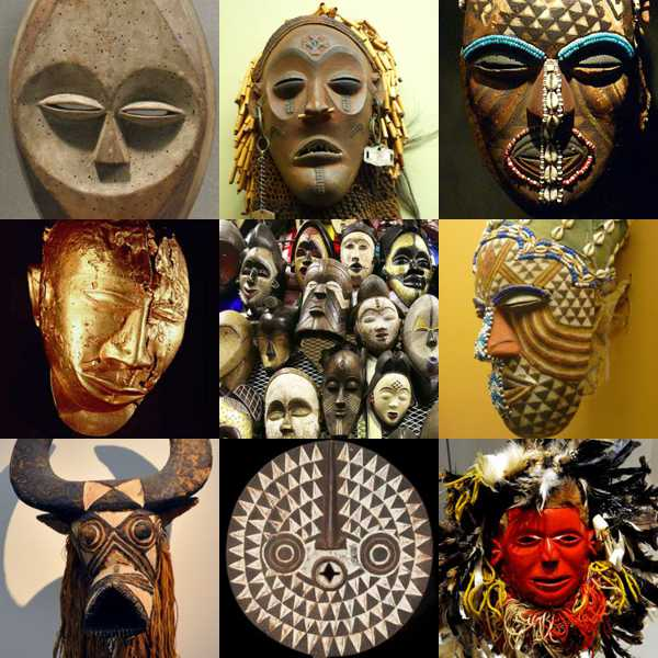 african masks information and examples