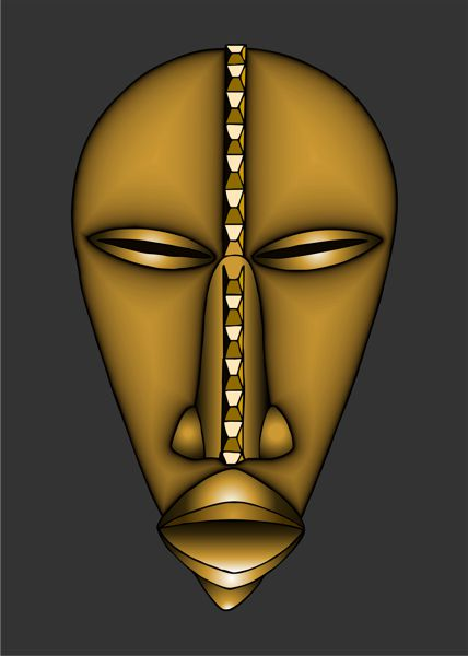 african masks dan mask