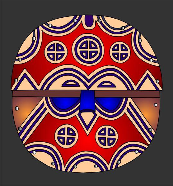 African Masks Teke Mask