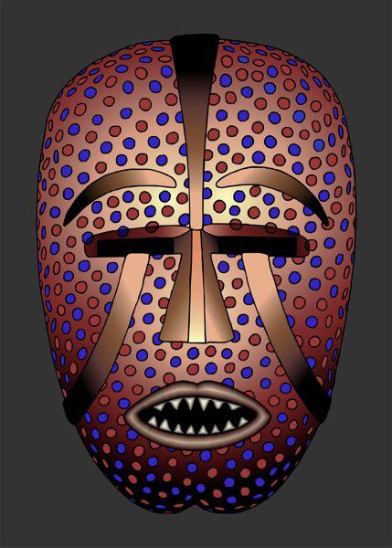 african masks woyo mask