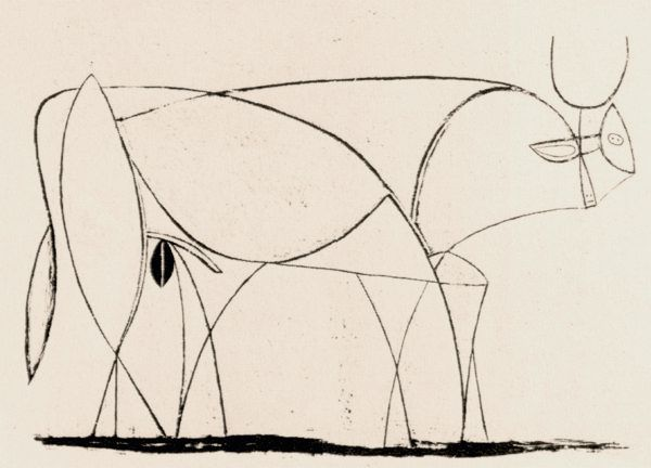 Line Drawing Picasso : Animals in art pablo picasso