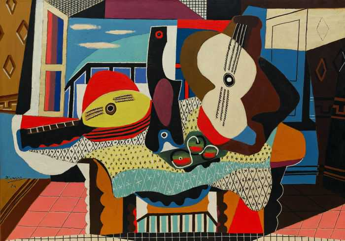 Cubism - the first abstract style of modern art