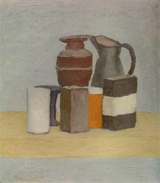 'Natura Morta (Still Life)', 1960 (oil on canvas)
