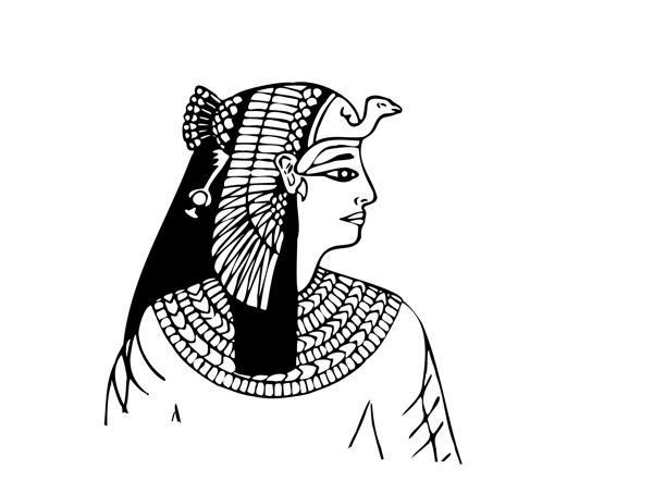 How To Draw An Ancient Egyptian Head