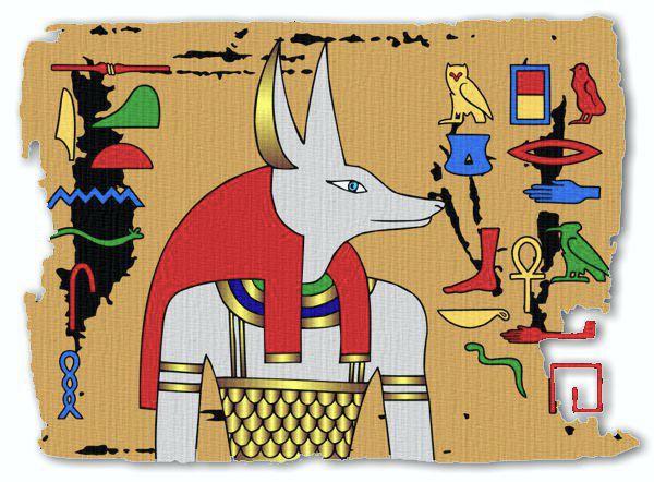 Ancient Egyptian Gods - Anubis