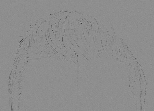 Sketch Art Hair