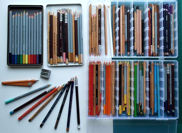 Color Pencil Portraits Materials And Techniques