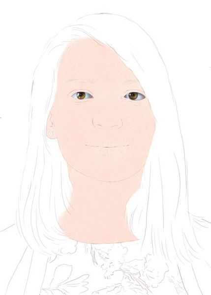 Portrain Set 12 pk Dark Tone Skin Colored Pencils for Portraits Skintone Artists