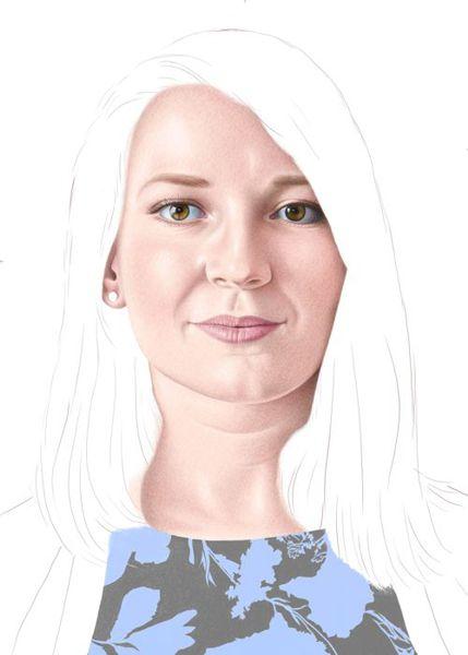 color pencil portraits