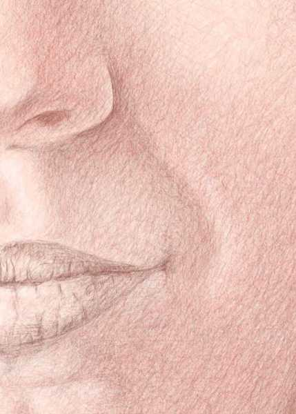 Color Pencil Portraits - How to Shade the Skin