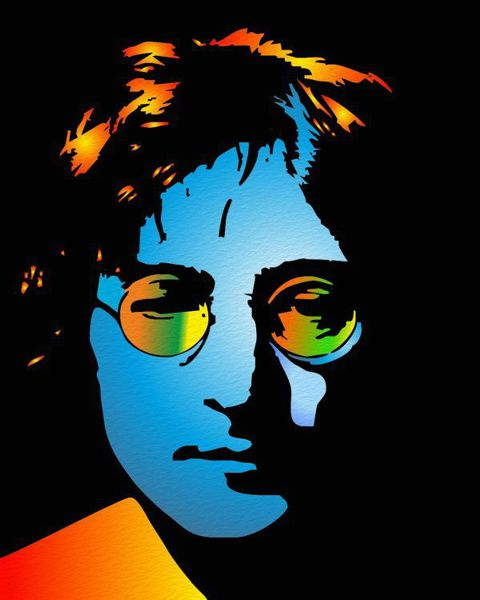 Pop Art Portraits John Lennon