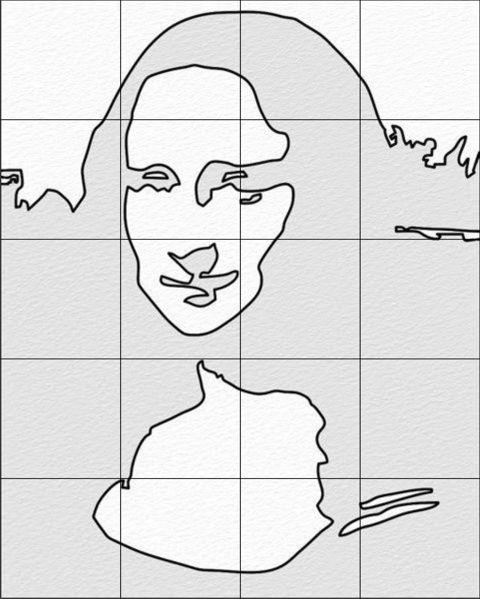 pop art portrait step 5 making a template image