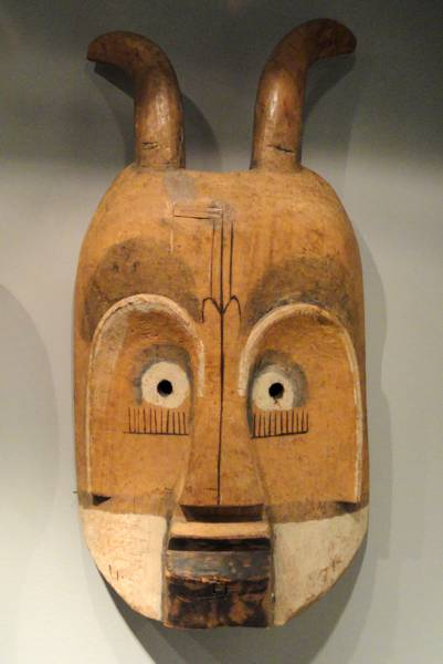 African mask from Cameroon.