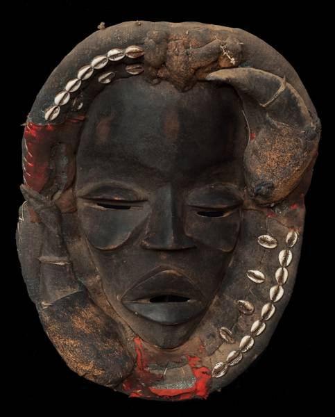 Mask from the Dan people of the Ivory Coast.