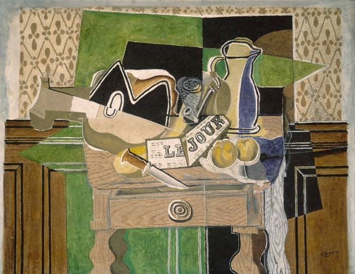 'Still Life: Le Jour', (1929) by Georges Braque.
