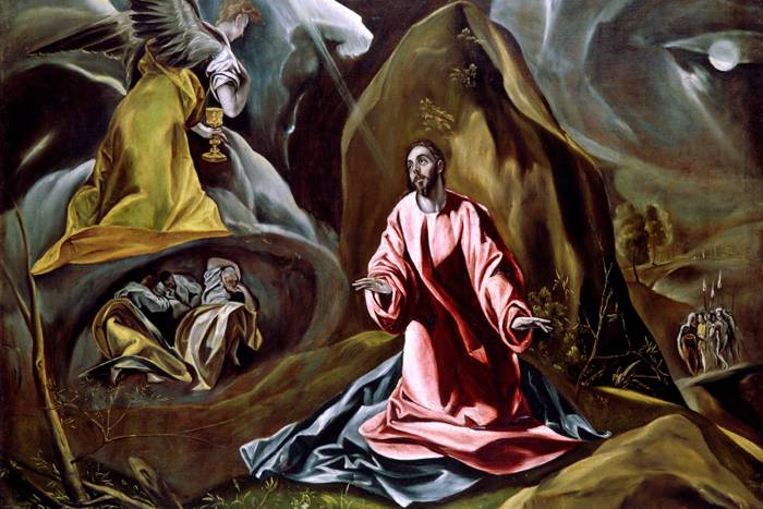 'The Agony in the Garden' (1595) by El Greco.