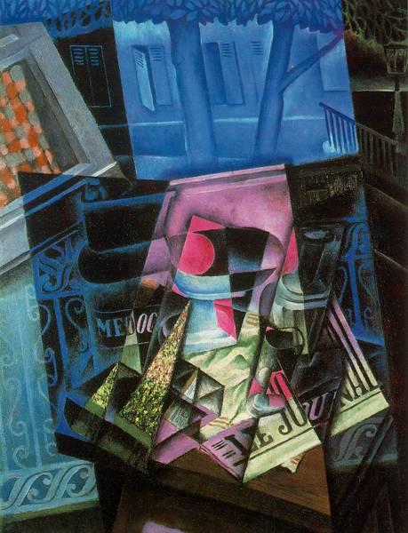 'Still Life with Open Window, Rue Ravignan' (1915) by Juan Gris.