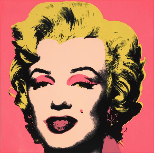 'Marilyn', screenprint (1967) by Andy Warhol