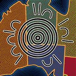 Aboriginal Dot Art Lesson