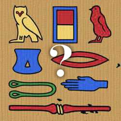 Egyptian Hieroglyphs Quiz