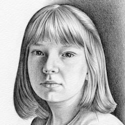 Drawing a Pencil Portrait