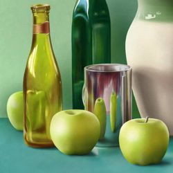 Still Life - Painting the Background