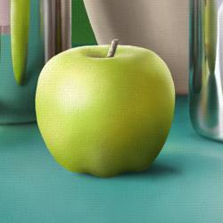 Still Life - Painting Apples