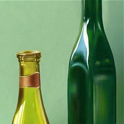 Still Life - Painting Bottles