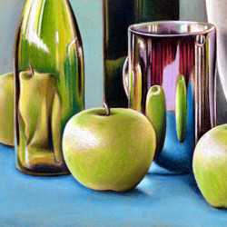 Still Life with Pastels