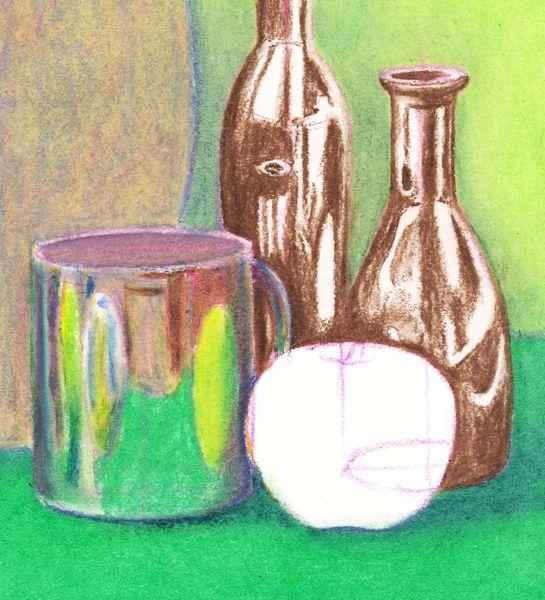 Still Life Techniques Oil Pastels