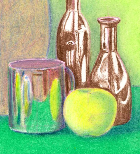 Passo 6: Concluir as cores básicas e tons