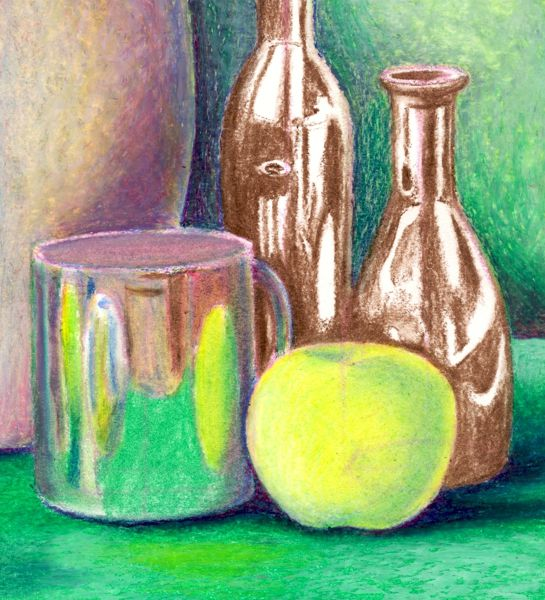 Рисование пастелью
