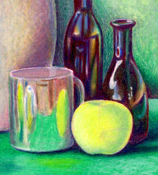 Still Life Techniques - Oil Pastels